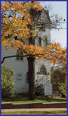 The Old Church on the Green is a beautiful,  historic church situated on the town square of picturesque Hudson, Ohio.  Built in 1860, it was a stop on the underground railroad during the Civil War.  The chapel can seat up to 175 guests and  features a choir balcony from which guests may enjoy bird's eye view.